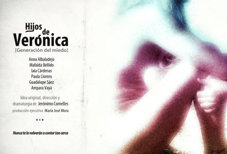 Cartel de 'Los hijos de Verónica', de Jerónimo Cornelles. Russafa Escénica 2016