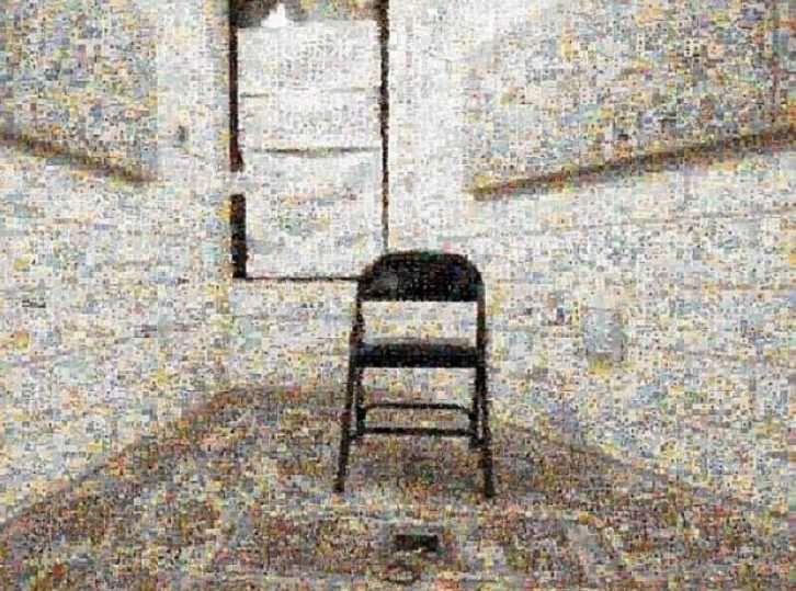 Guantánamo, de Joan Fontcuberta, en 'Ni cautivos ni desarmados'. Centre Cultural La Nau.