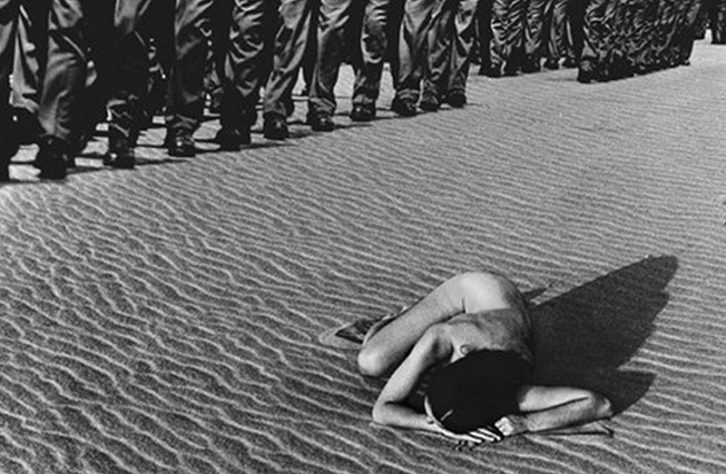 Marifile, de Jorge Rueda, en 'Ni cautivos ni desarmados'. Imagen cortesía de Centre Cultural La Nau.