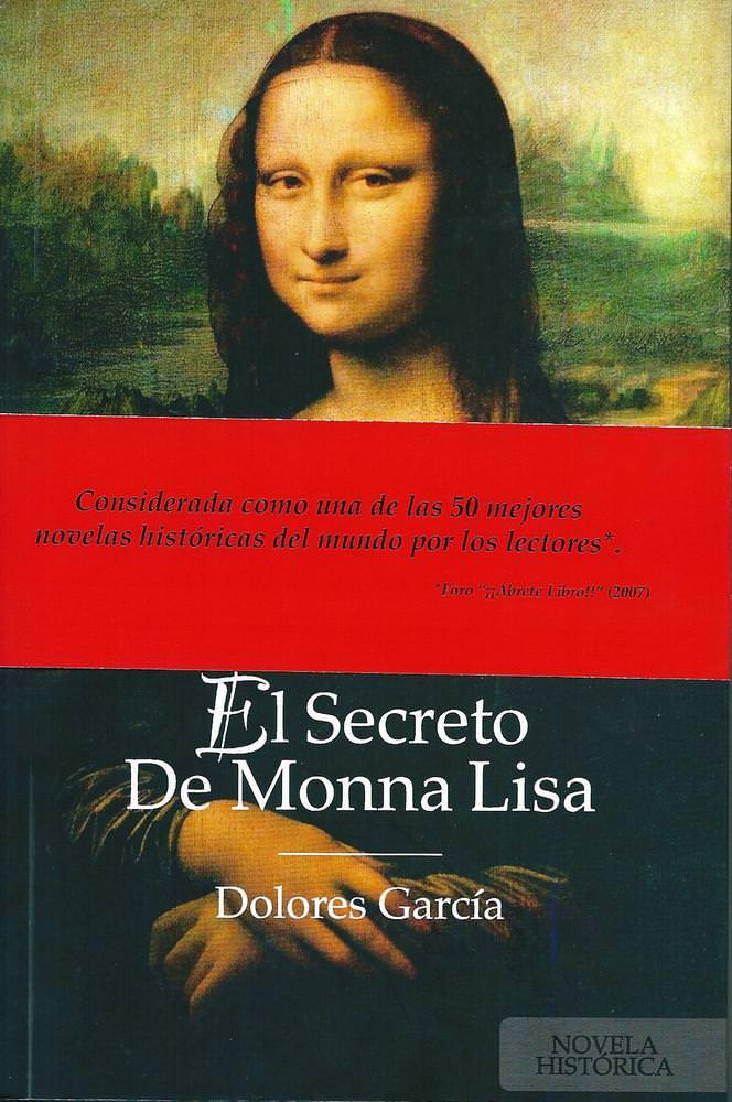 Portada de 'El secreto de Monna Lisa', de Dolores García.