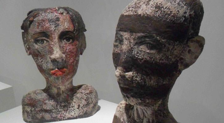 Esculturas de Teresa Gironés. Museo Nacional de Cerámica González Martí.