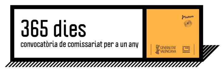 Logo de la convocatoria 365 dies. Imagen cortesía del Consorcio de Museos.