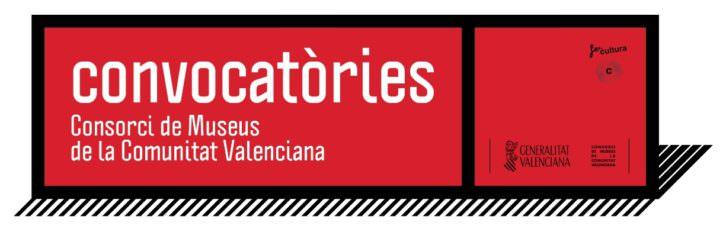 Logo de las convocatorias. Imagen cortesía del Consorcio de Museos.