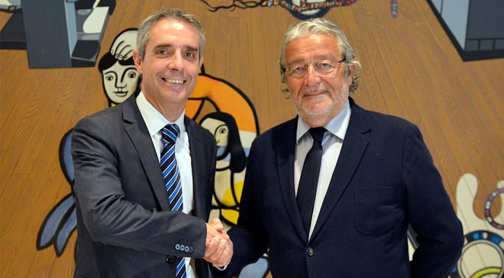 Bibiano Martínez y Rafael Alcón. Imagen cortesía Fundación Bancaja.