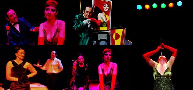 Diferentes instantes de una las representaciones de Companyia Hongaresa de Teatre. Fotografía cortesía de la compañía.