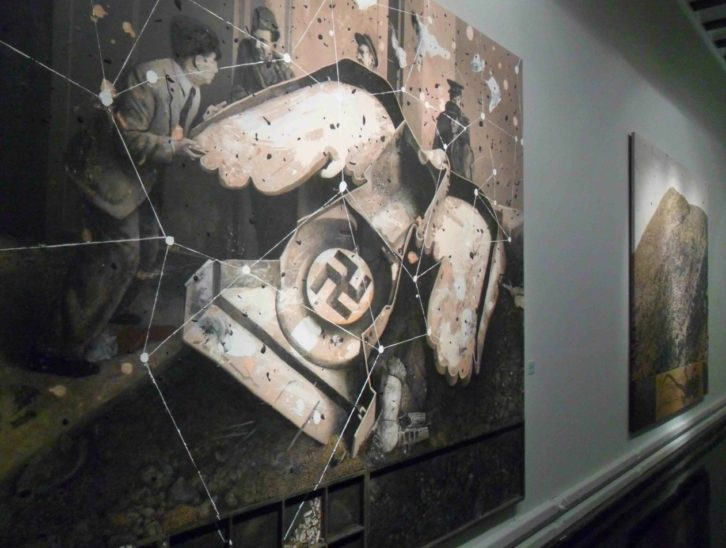 Imagen de la exposición de Artur Heras en La Nau.