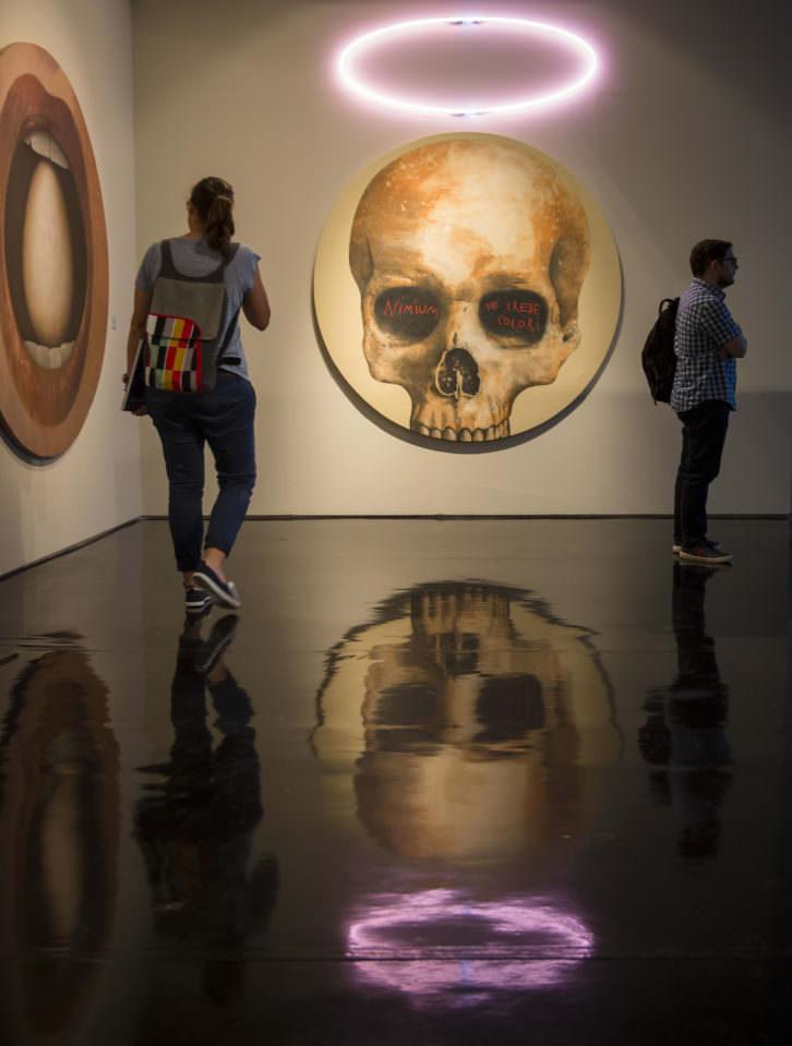 Vista de la exposición de Artur Heras. Fotografía de Miguel Lorenzo por cortesía de La Nau.