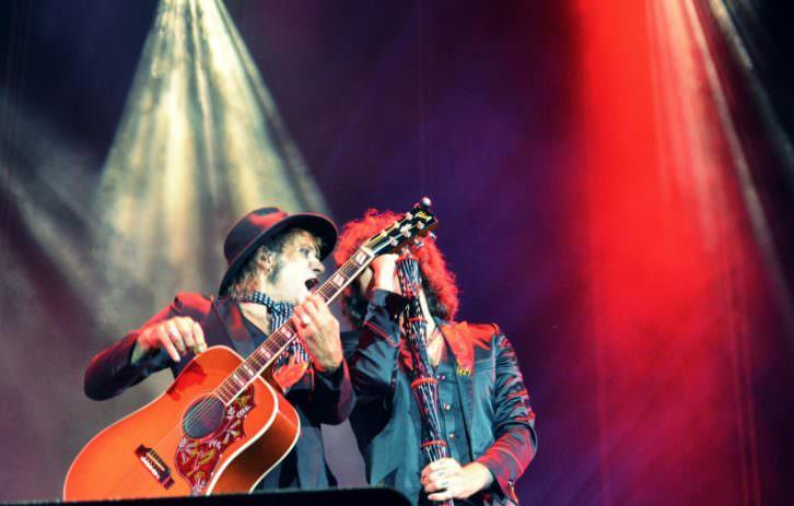 Bunbury en el concierto de la Plaza de Toros de Valencia. Fotografía: Lorena Riestra 'Malva'.