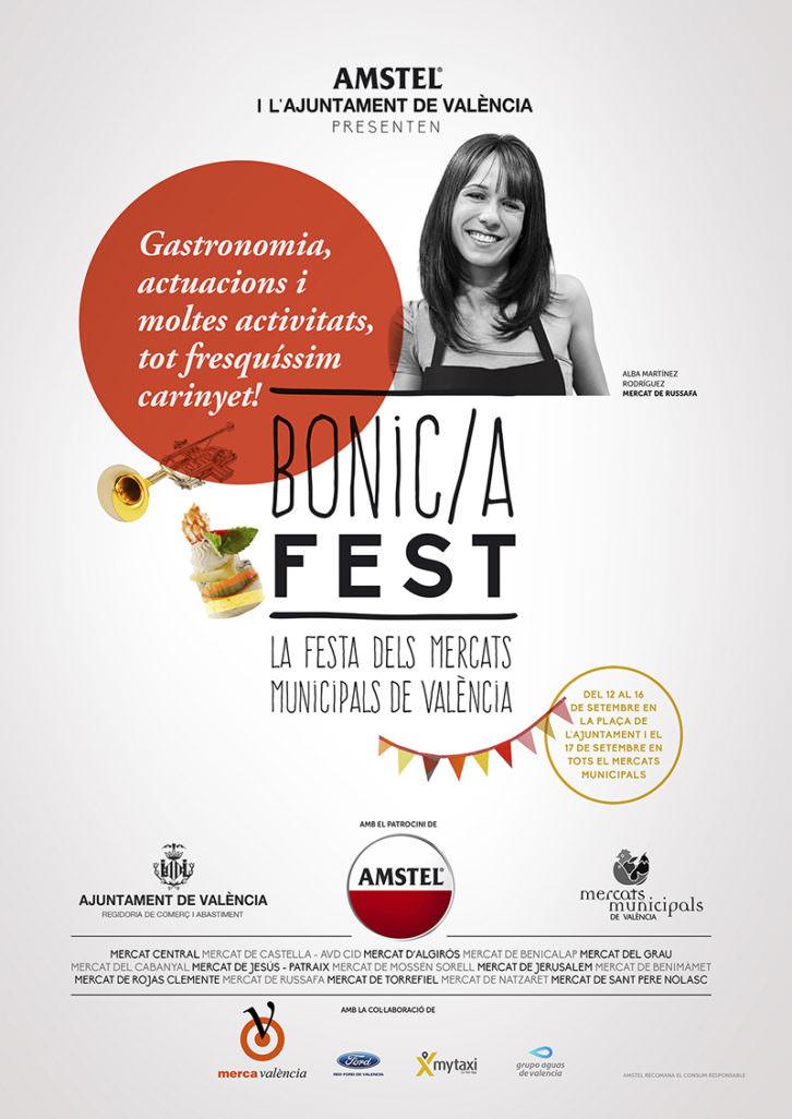 Cartel del Bonic/A Fest, por cortesía de la organización.