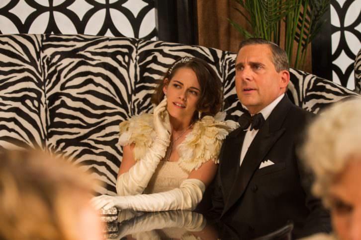 Kristen Stewart y Steve Carelldurante un instante de 'Café Society', de Woody Allen.