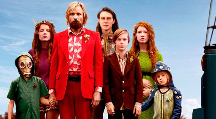 Imagen del cartel de Captain Fantastic, de Matt Ross.