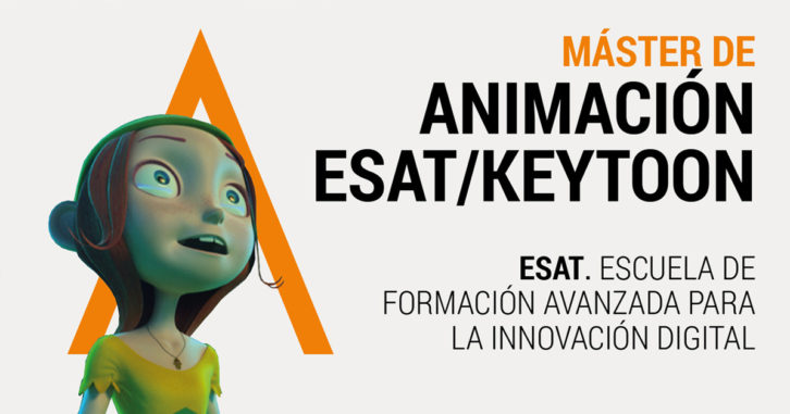 Máster de Animación. Imagen cortesía de ESAT.