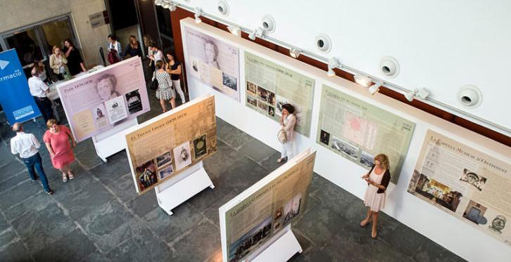Vista de la exposición 'Les ciutats del músic'. Imagen cortesía del MuVIM.