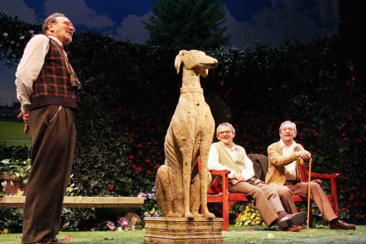 Escena de 'Héroes', de Tamzin Townsend. Teatro Olympia. Imagen cortesía de la productora.