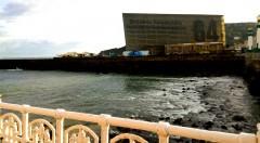 Panorámica del Kursaal, sede oficial del Festival de Cine de San Sebastián. Fotografía: Neus Flores.