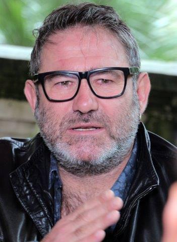 El actor Sergi López, durante su paso por el Festival para presentar 'Orpheline'. Fotografía: (c) Fotos i Films.