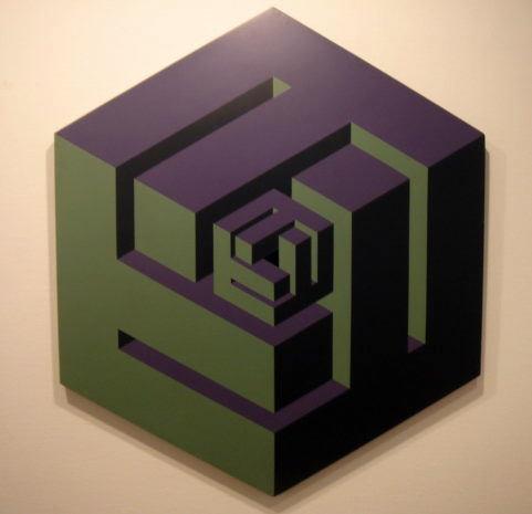 Obra de José María Yturralde. Imagen cortesía de Galería Cuatro.