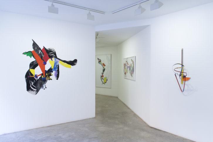 Montaje de la exposición Destellos. Imagen cortesía Set Espai d'Art.