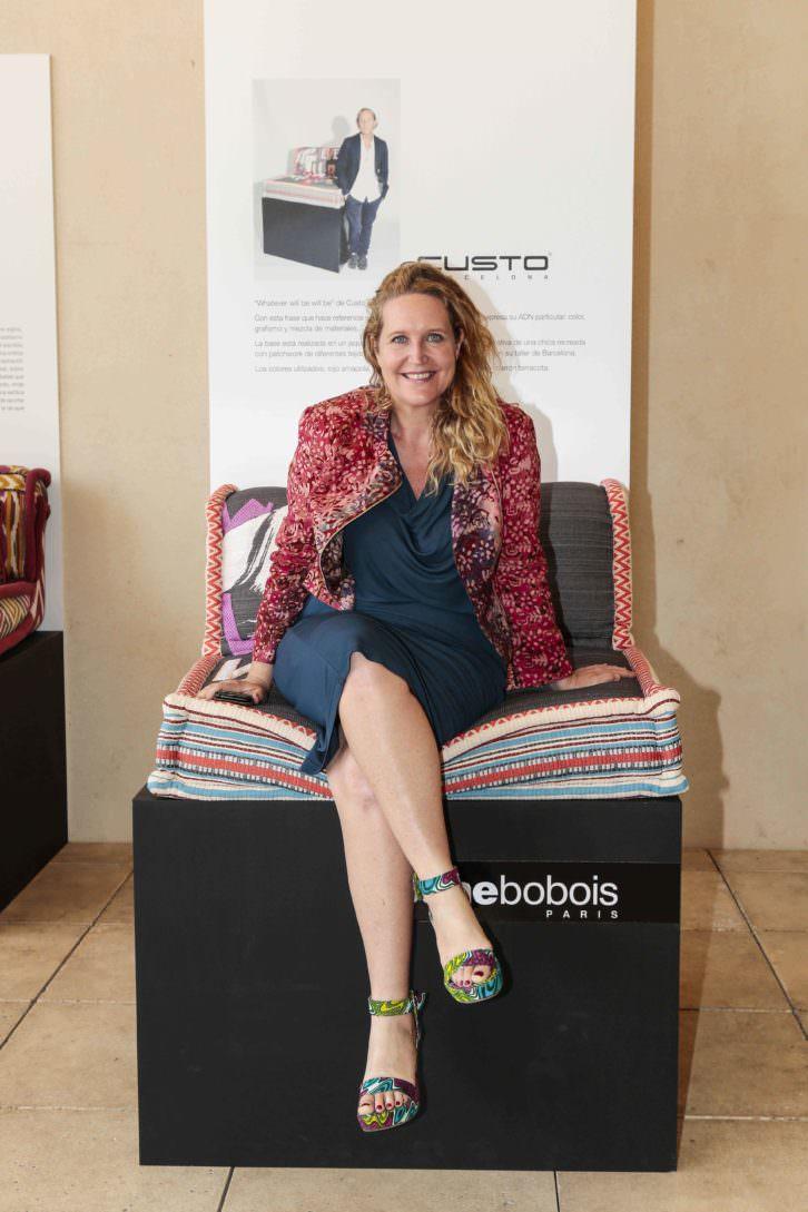 Lisa Lovatt-Smith, fundadora de la ONG 'OAfrica'. Fotografía cortesía de la firma.