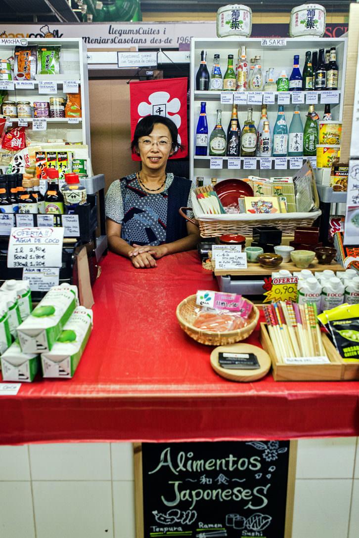 Imagen de uno de los puestos del mercado de Russafa. Fotografía de Eva Máñez por cortesía de Bonic/A Fest.