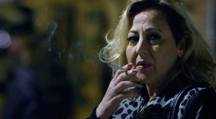Carmen Macho en un fotograma de 'La Puerta Abierta'.