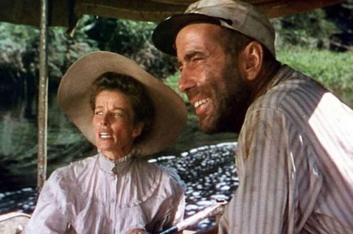 Fotograma de 'La reina de África', de John Huston. Imagen cortesía de la Filmoteca de Valencia.