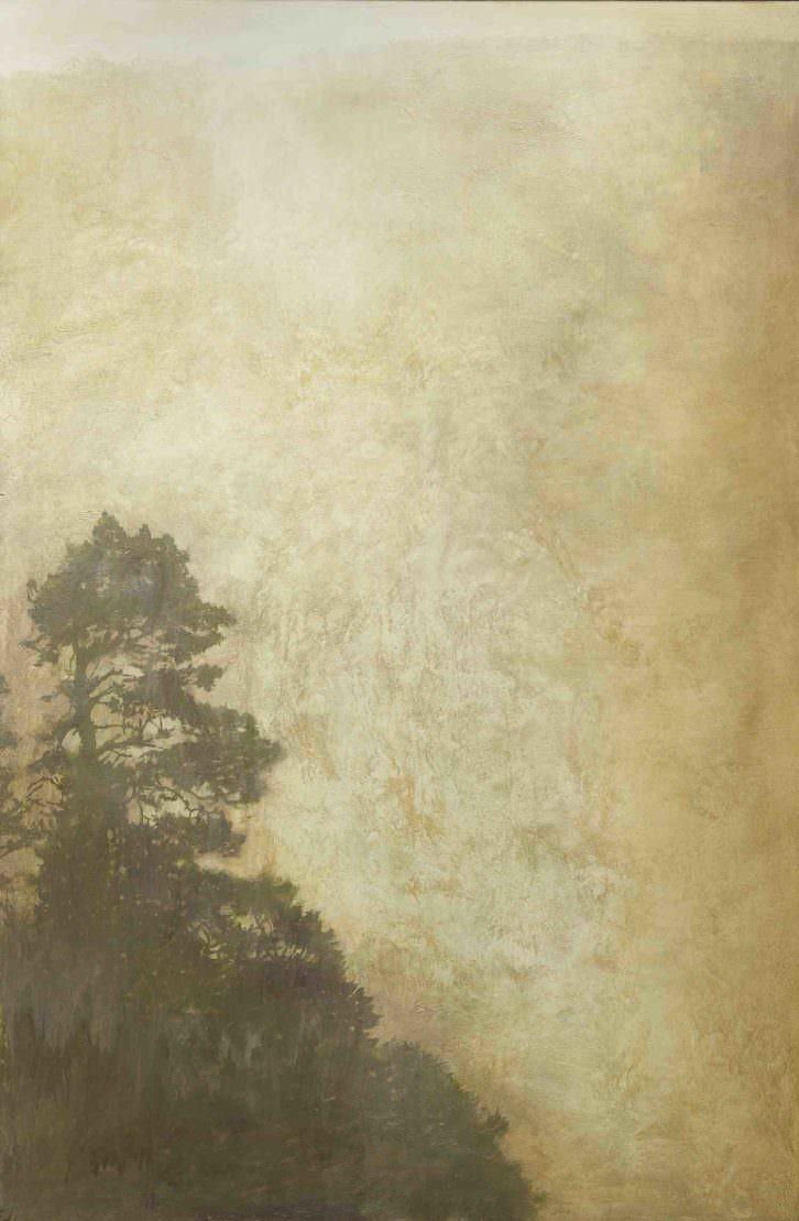 Obra de José Saborit en 'La misma savia'. Imagen cortesía de Shiras.