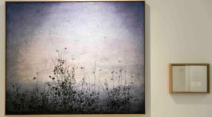 Una de las obras de la exposición de José Saborit. Imagen cortesía de Shiras.