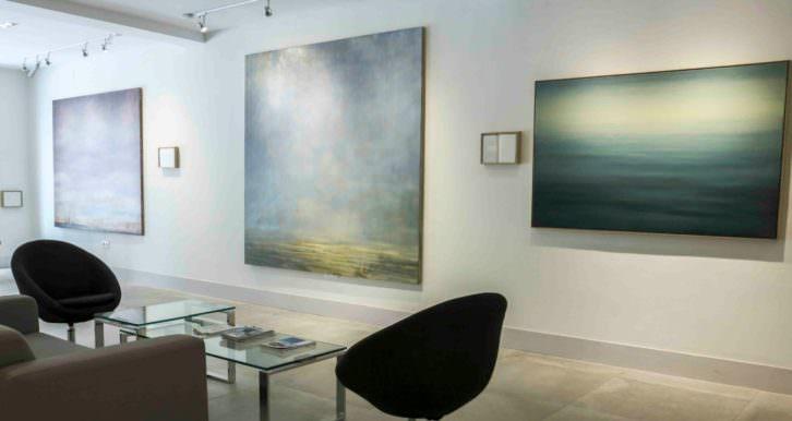 Vista de la exposición 'La misma savia', de José Saborit. Imagen cortesía de Shiras.