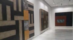 Vista de la exposición de Sean Scully en el Centro Cultural Bancaja.