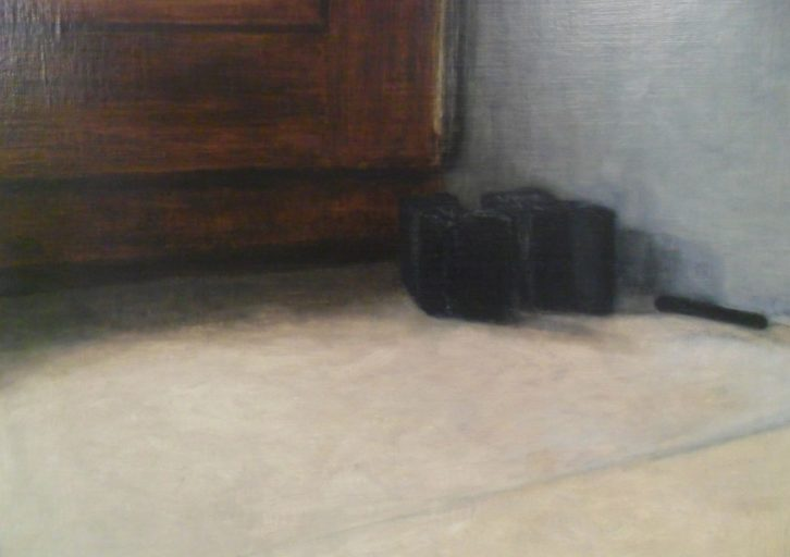 Obra de Liliane Tomasko en el Centro Cultural Bancaja.