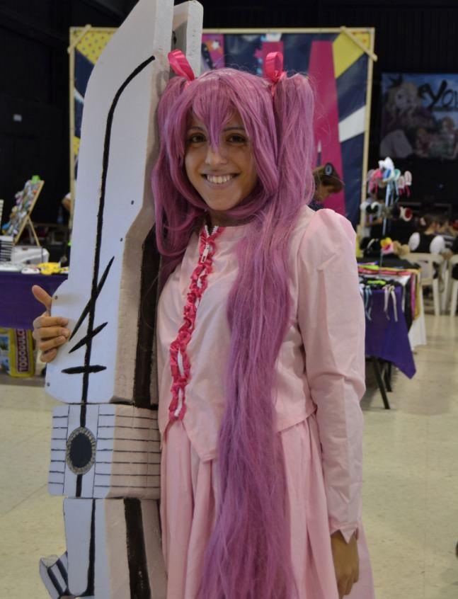Joven participante en el Nippon-Go de Silla. Fotografía: Malva.