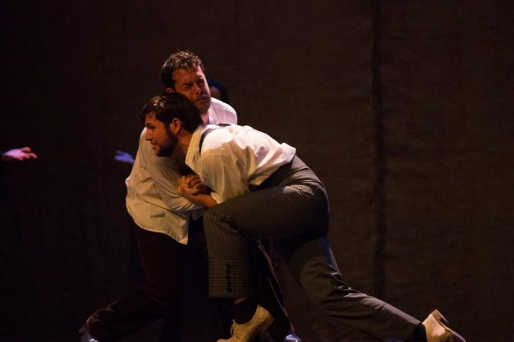 Bodas de sangre, de Jose Saiz. Imagen cortesía de Teatro Flumen.