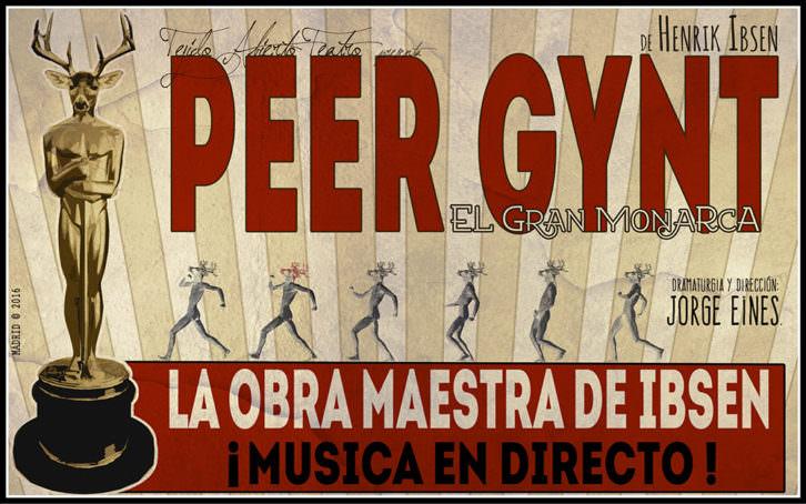 Cartel de Peer Gynt. Imagen cortesía de Sala Russafa.