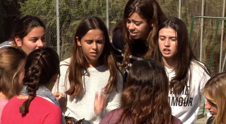 Fotograma del corto 'Ellas: mujeres que hacen historia...'.