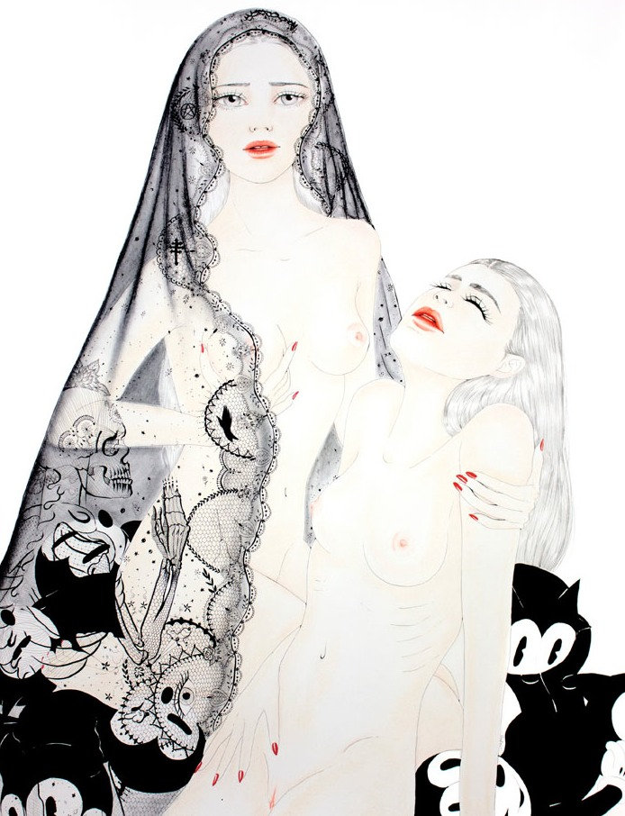 Obra de Crajes. Imagen cortesía de Plastic Murs.