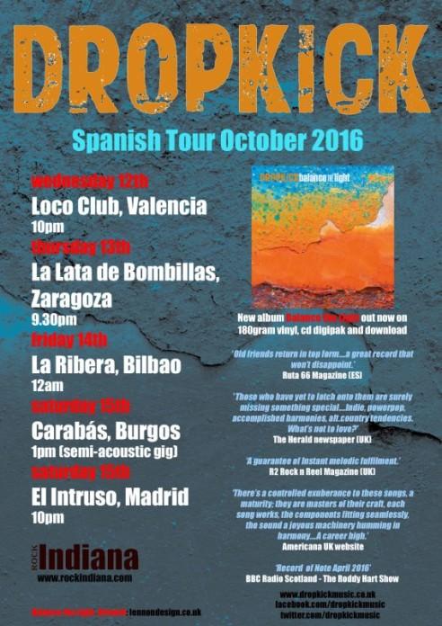 Dropkick-Tour