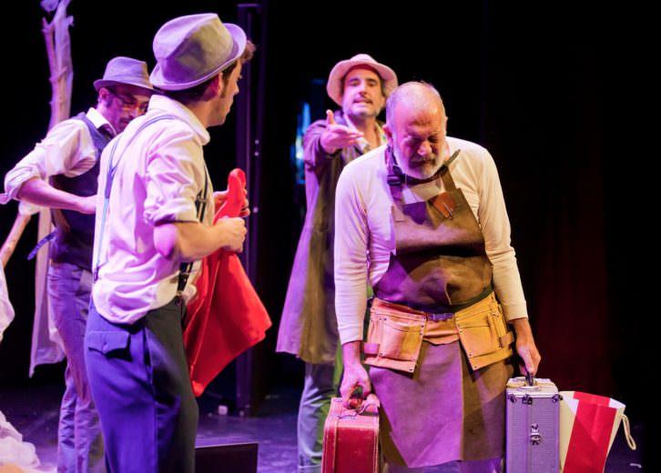 Esperando a Godot, La Nuca Teatro. Imagen cortesía de Sala Russafa.