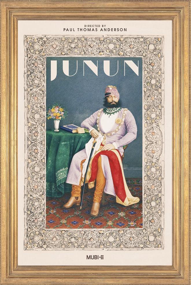 Cartel de 'Junun', de Paul Thomas Anderson. Imagen cortesía de La Cabina.