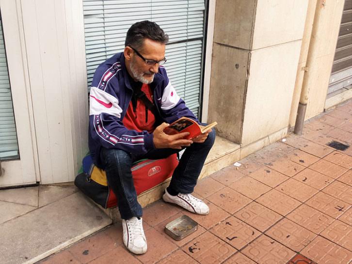 Luis. Fotografía de Maite Ibáñez.