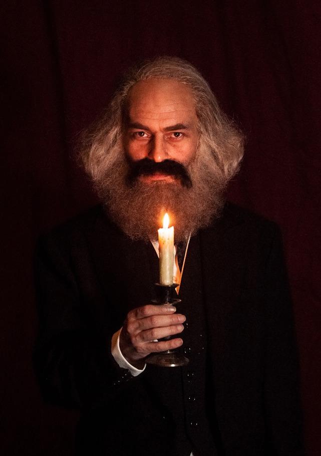 Marx en el Soho. Imagen cortesía de Sala Russafa.