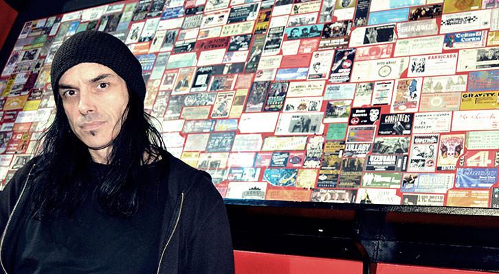 Morti, cantante de InMune. Fotografía: Javier Caro.