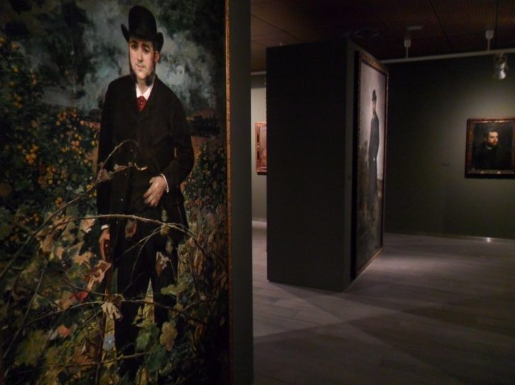Vista de la exposición de Pinazo en Bancaja.