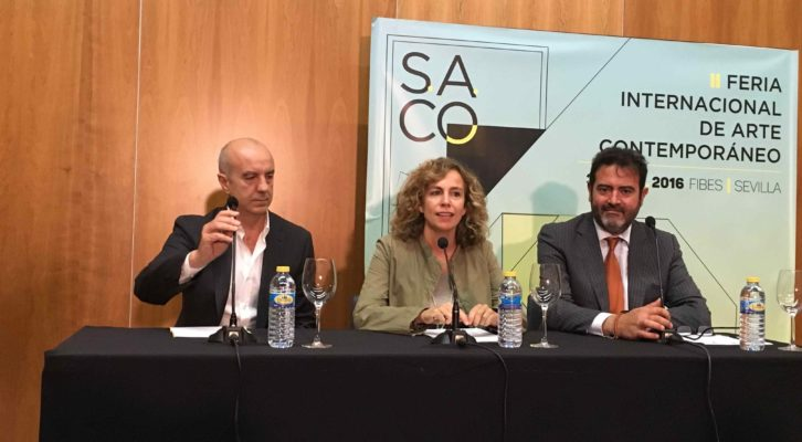 Un instante de la presentación y avance de contenidos de S.A.CO. Fotografía cortesía de los organizadores.