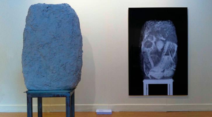 Vista de la exposición de Vicente Talens. Imagen cortesía de Mr. Pink.