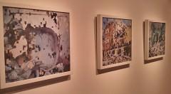 Montaje de la exposición de Carla Gabarda. Imagen: María Ramis.