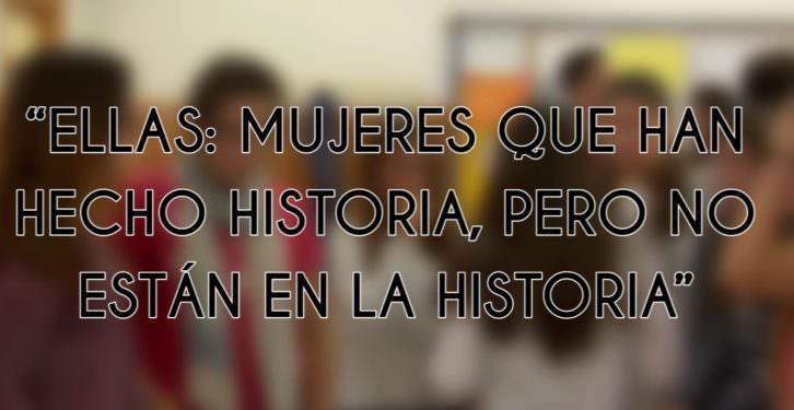 Fotograma del cortometraje 'Ellas: mujeres que han hecho historia'.