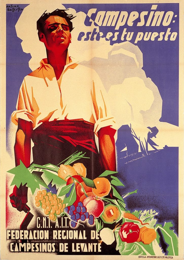 Cartel de la República. Imagen cortesía de La Nau.