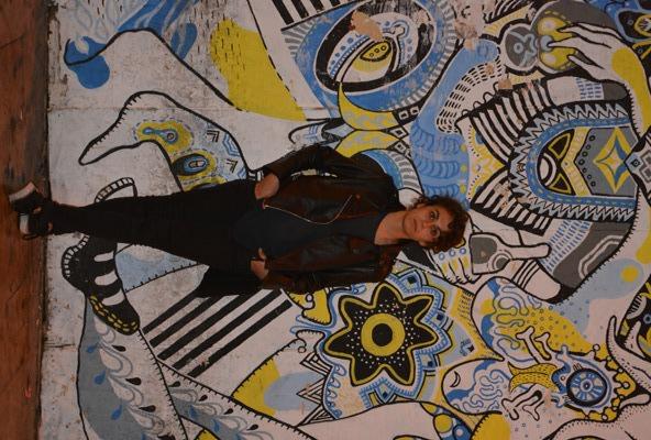 Cristina Ramírez en el Barrio del Carmen (Valencia)