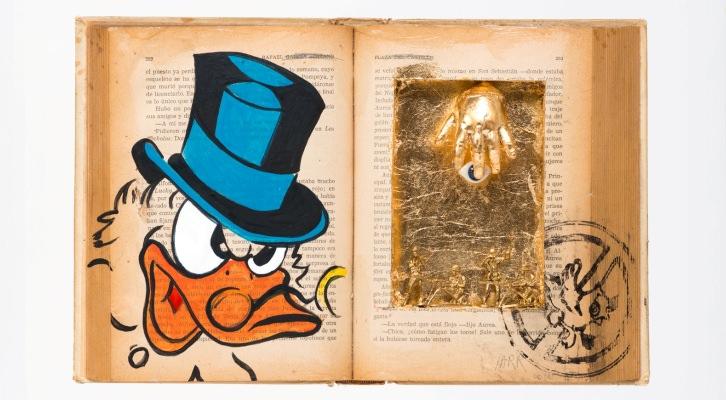 'El gran libro'. Tec. mix. s. reciclaje. 23x36cm